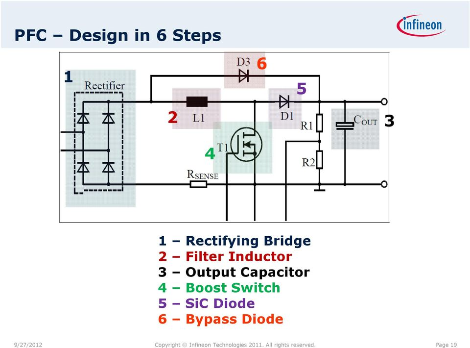 Switch 5 SiC Diode 6 Bypass Diode 9/27/2012