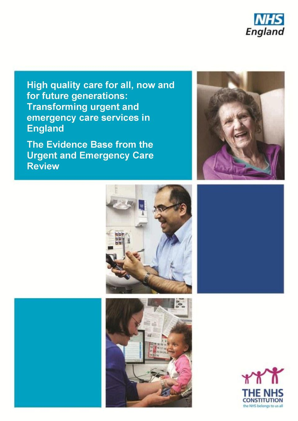 emergency care services in England The