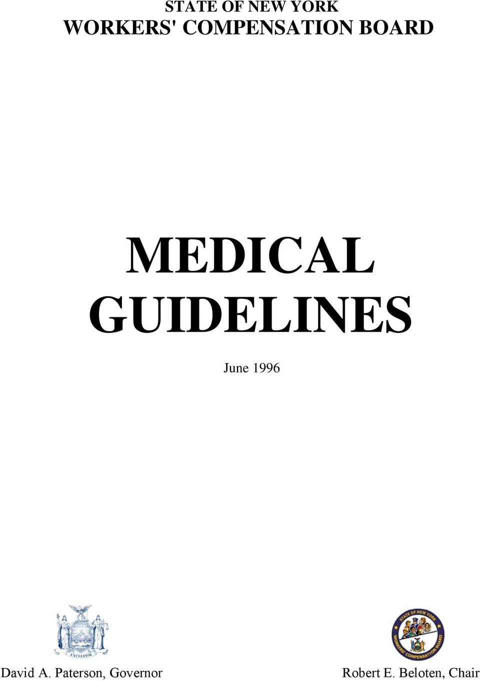 GUIDELINES June 1996 David A.