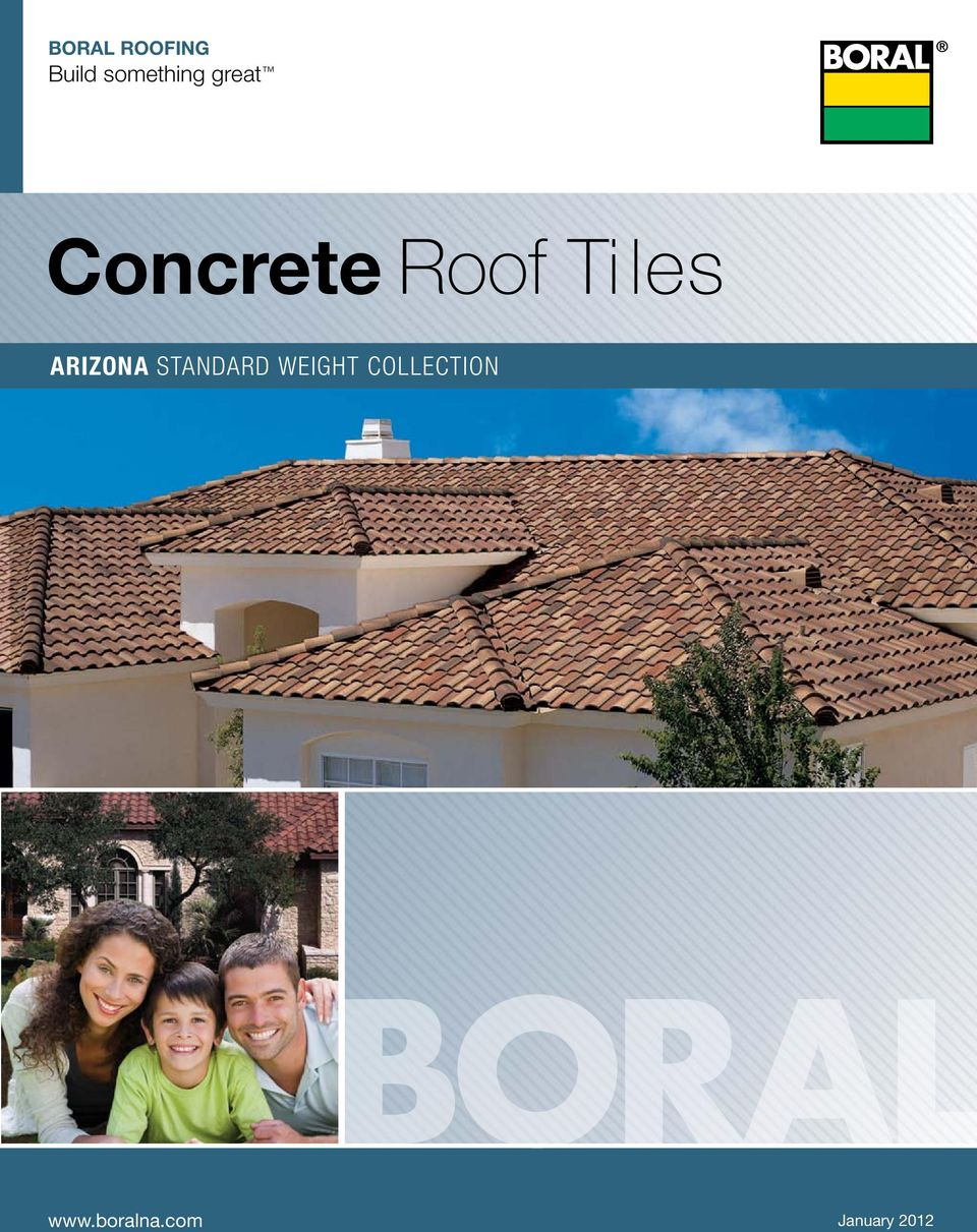 Roof Tiles arizona standard weight