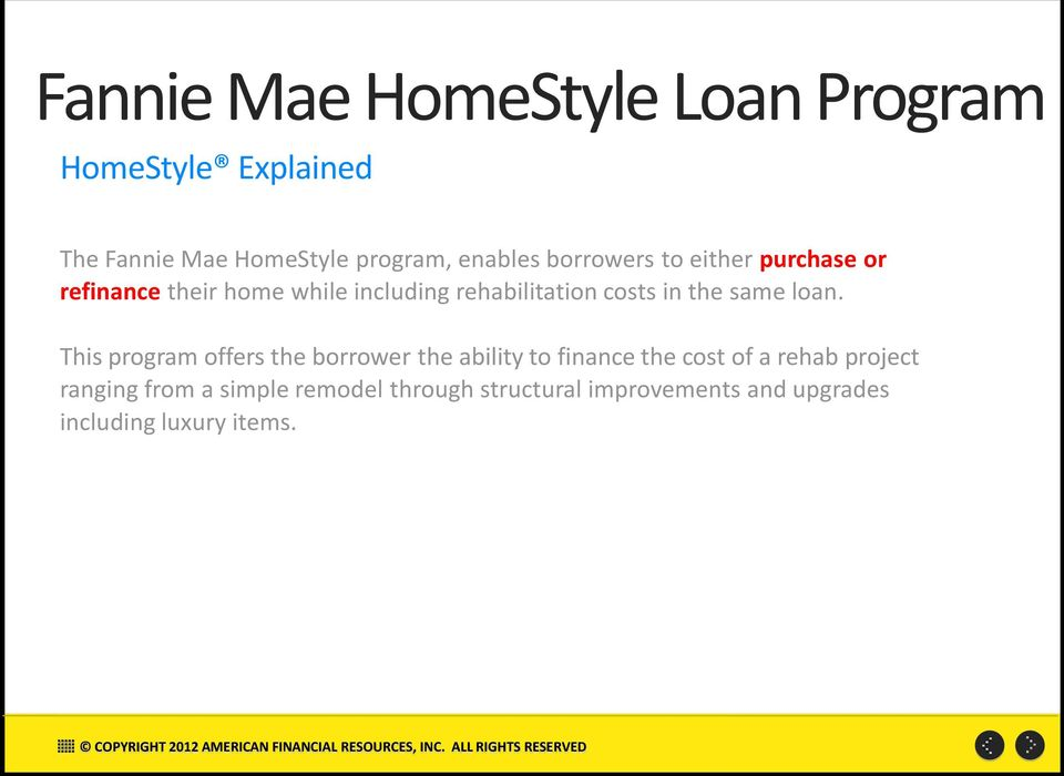 Home Loan Refinance Fannie Mae Home Loan Refinance