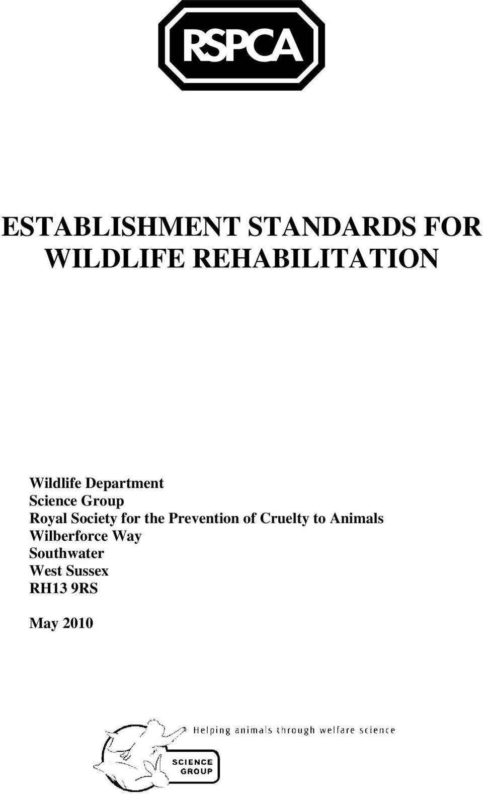 Royal Society for the Prevention of Cruelty to