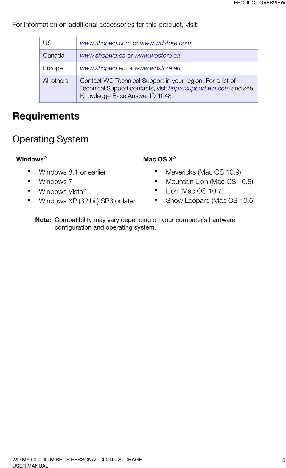 Requirements Operating System Windows Mac OS X Windows 8.1 or earlier Windows 7 Windows Vista Windows XP (32 bit) SP3 or later Mavericks (Mac OS 10.