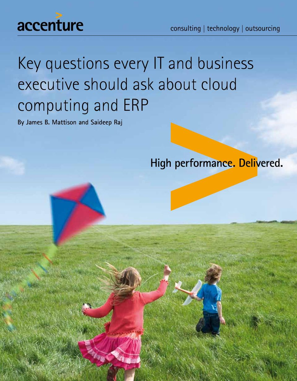 about cloud computing and ERP