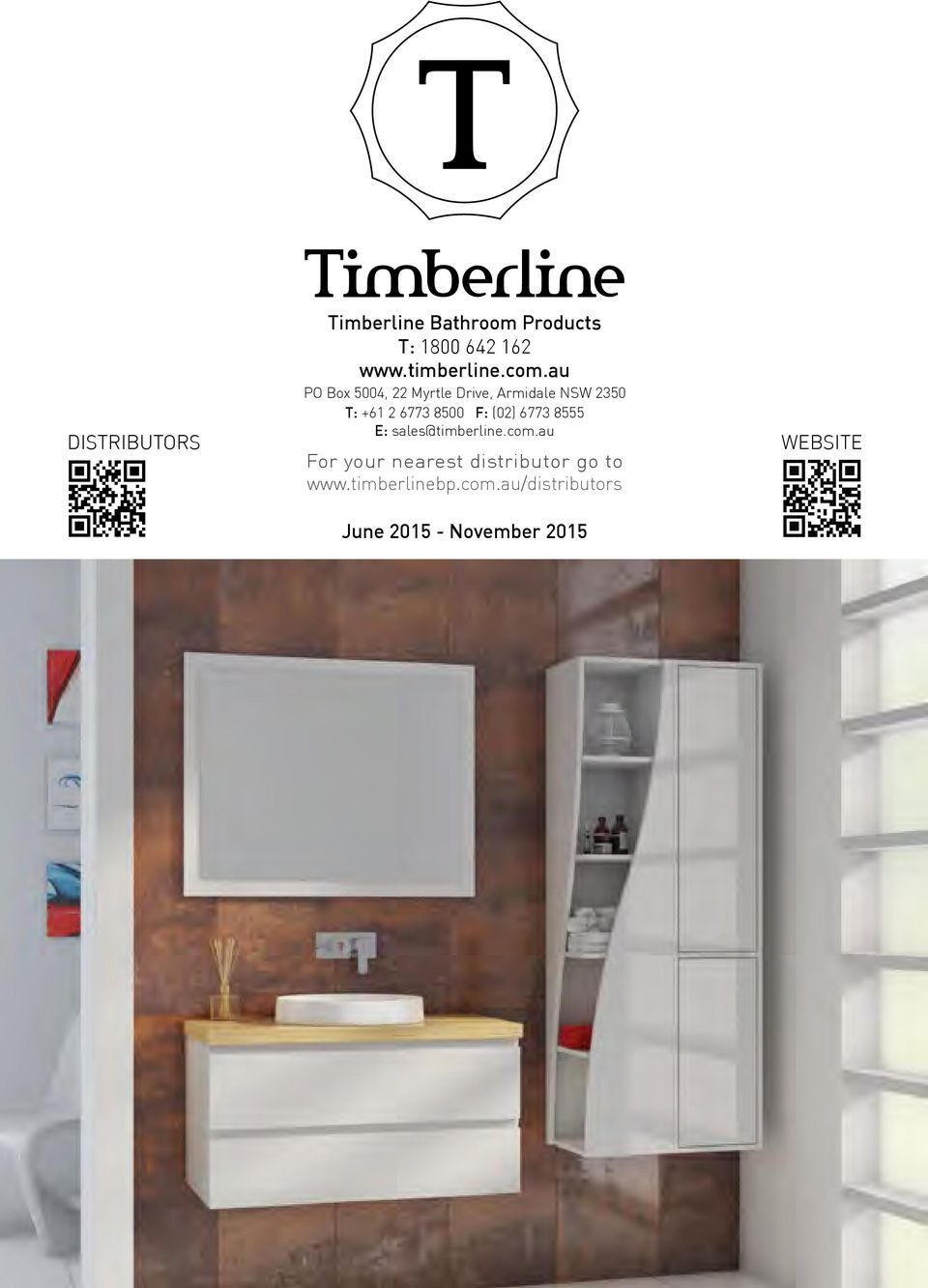 F: (02) 6773 8555 E: sales@timberline.com.