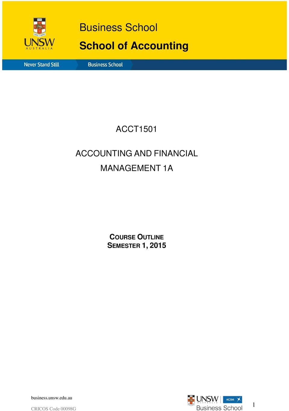 ACCOUNTING AND FINANCIAL