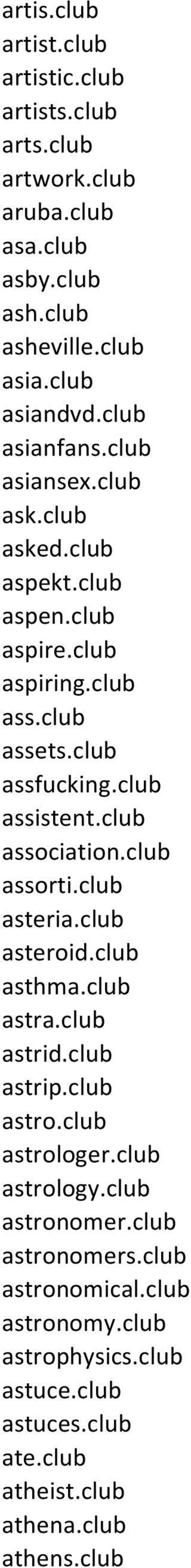 club association.club assorti.club asteria.club asteroid.club asthma.club astra.club astrid.club astrip.club astro.club astrologer.club astrology.