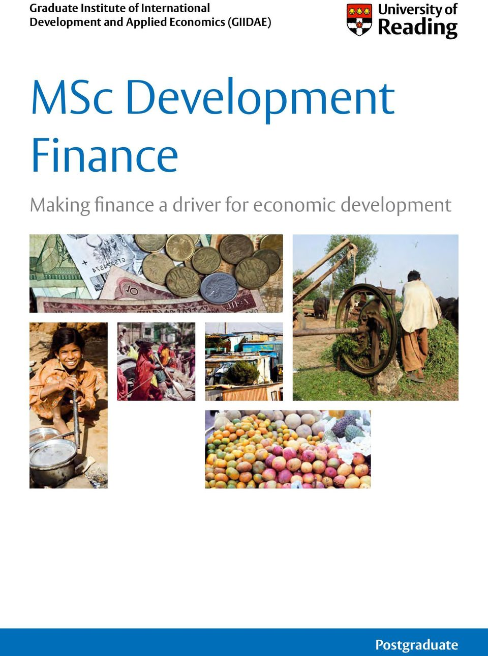 (GIIDAE) MSc Development Finance Making