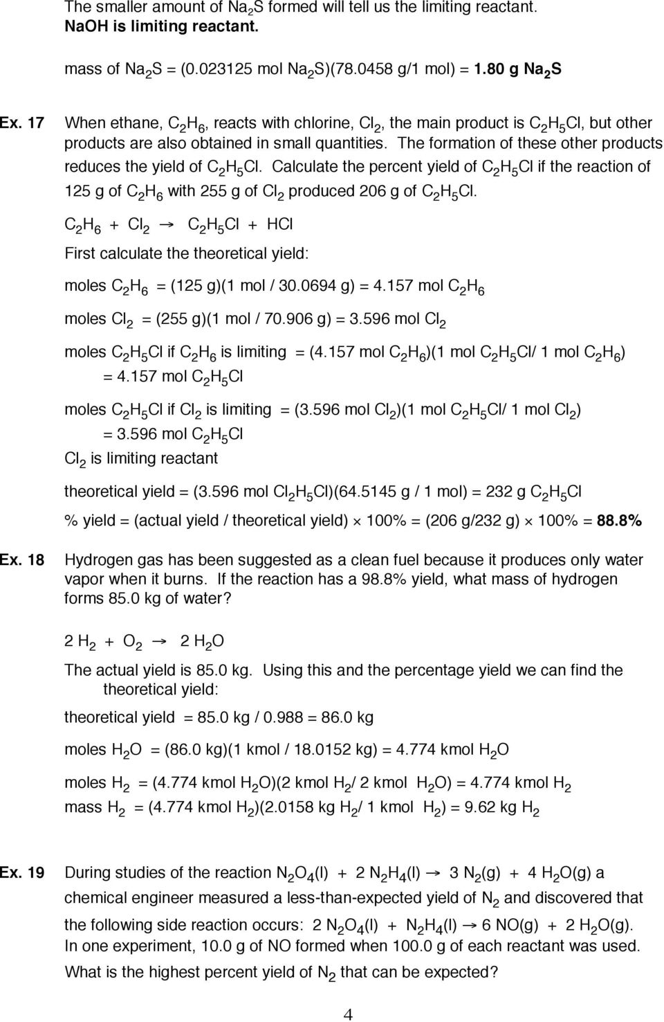 Stoichiometry Worksheet With Answers Pdf Best Free Fillable Forms