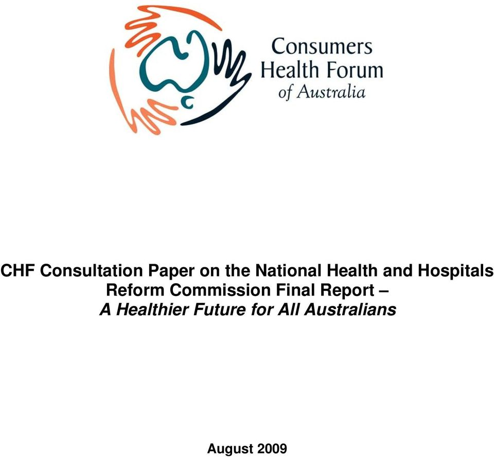 Reform Commission Final Report A