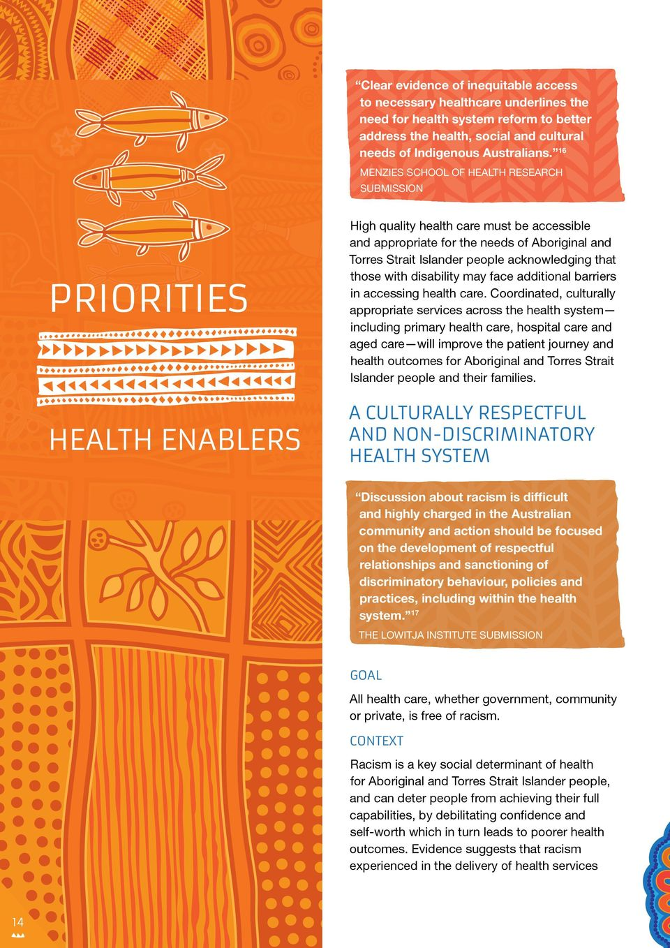 acknowledging that those with disability may face additional barriers in accessing health care.
