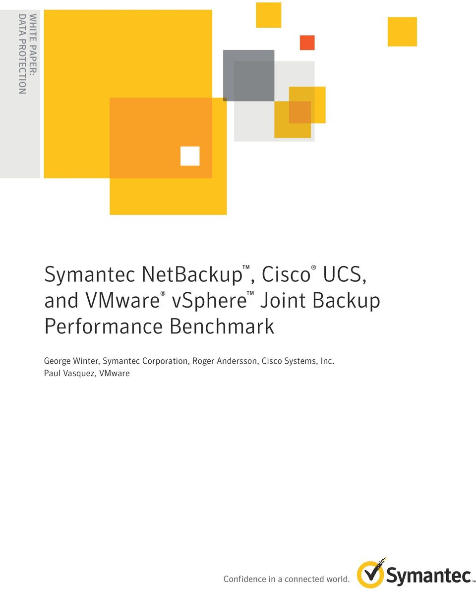 Performance Benchmark George Winter, Symantec
