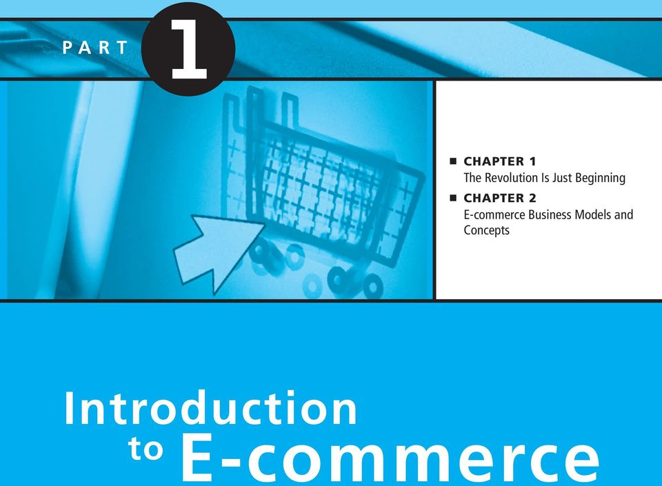E-commerce Business Models and