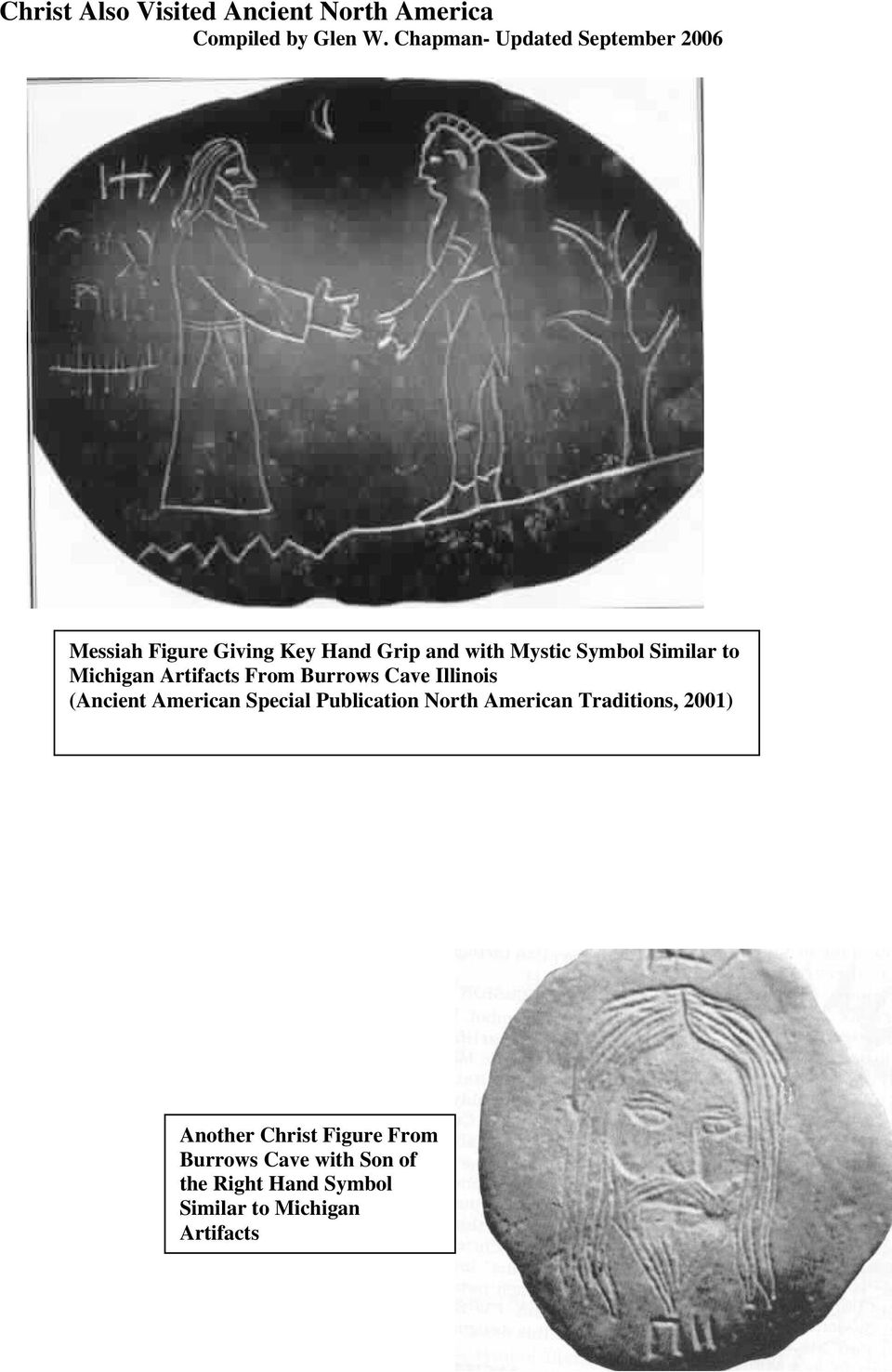 Similar to Michigan Artifacts From Burrows Cave Illinois (Ancient American Special Publication