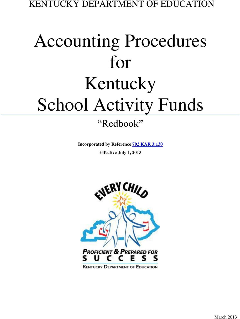 School Activity Funds Redbook