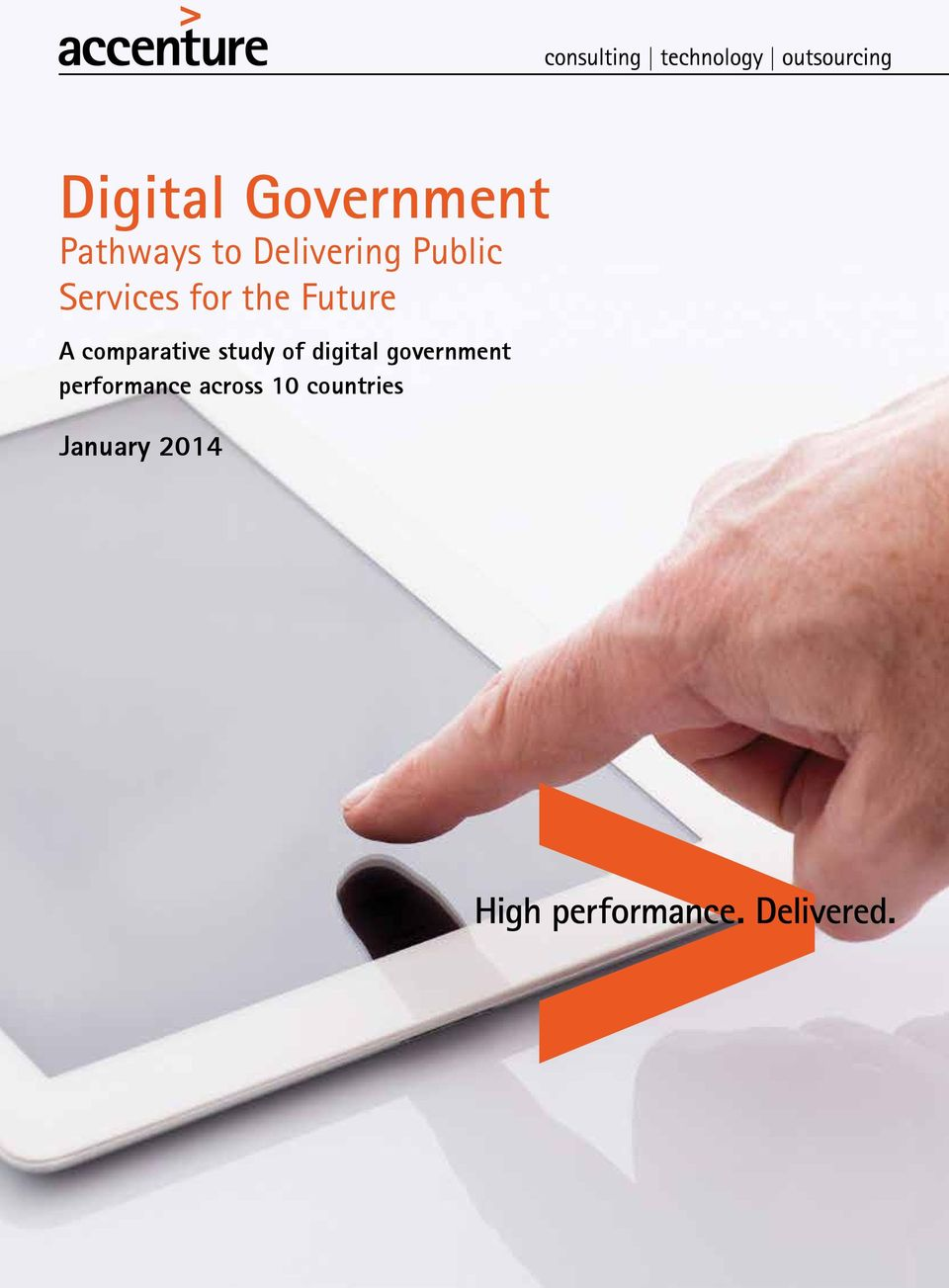 digital government performance across