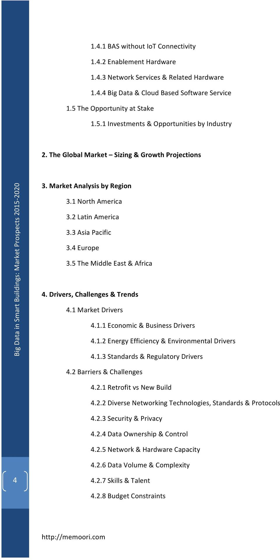 5TheMiddleEast&Africa 4.%Drivers,%Challenges%&%Trends% 4.1MarketDrivers 4.1.1Economic&BusinessDrivers 4.1.2EnergyEfficiency&EnvironmentalDrivers 4.1.3Standards&RegulatoryDrivers 4.