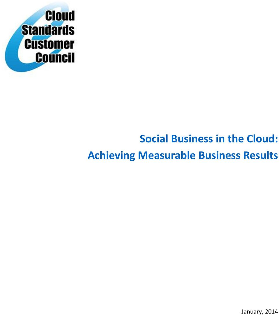Measurable Business
