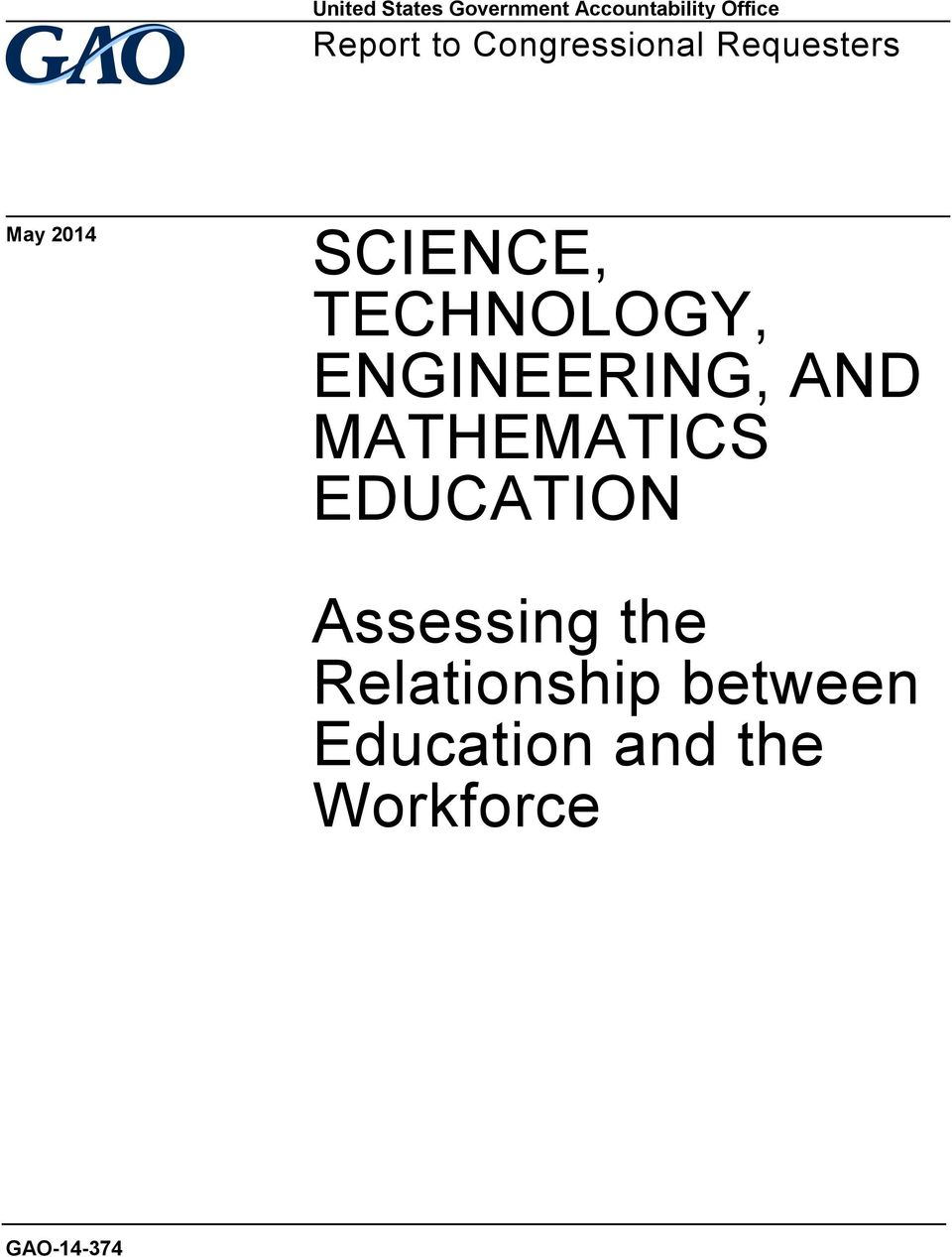 TECHNOLOGY, ENGINEERING, AND MATHEMATICS EDUCATION