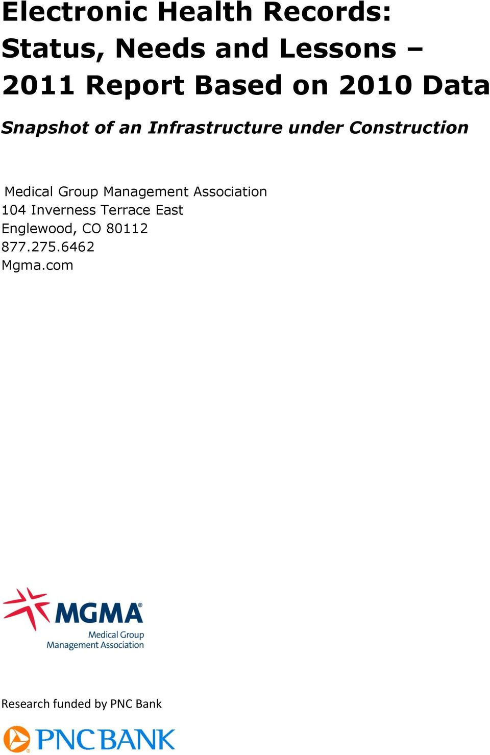 Construction Medical Group Management Association 104 Inverness