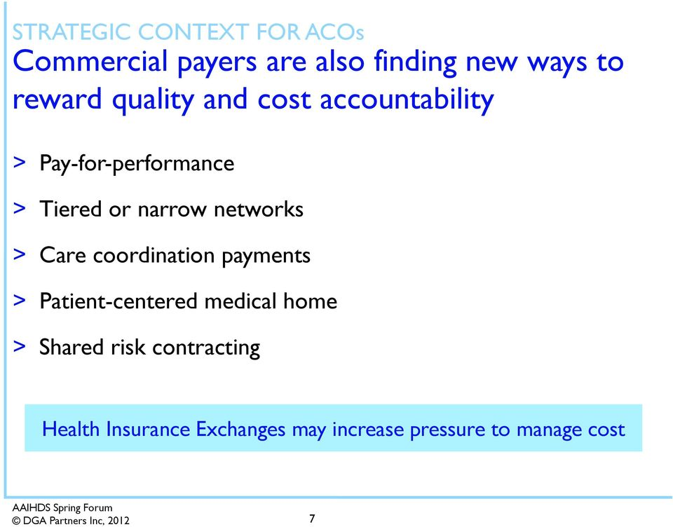 narrow networks > Care coordination payments > Patient-centered medical home >