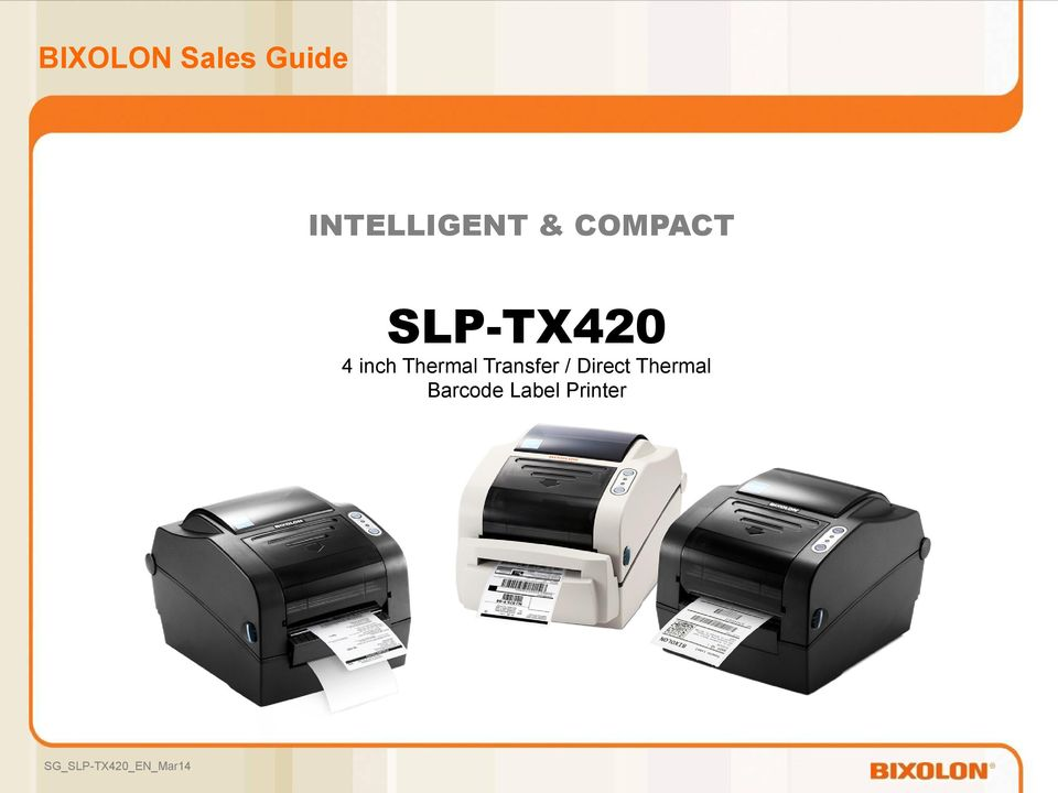 SLP-TX420 4 inch Thermal