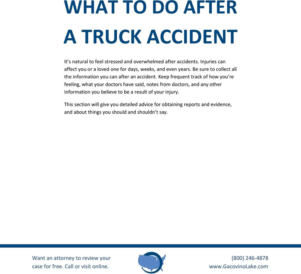 Be sure to collect all the information you can after an accident.