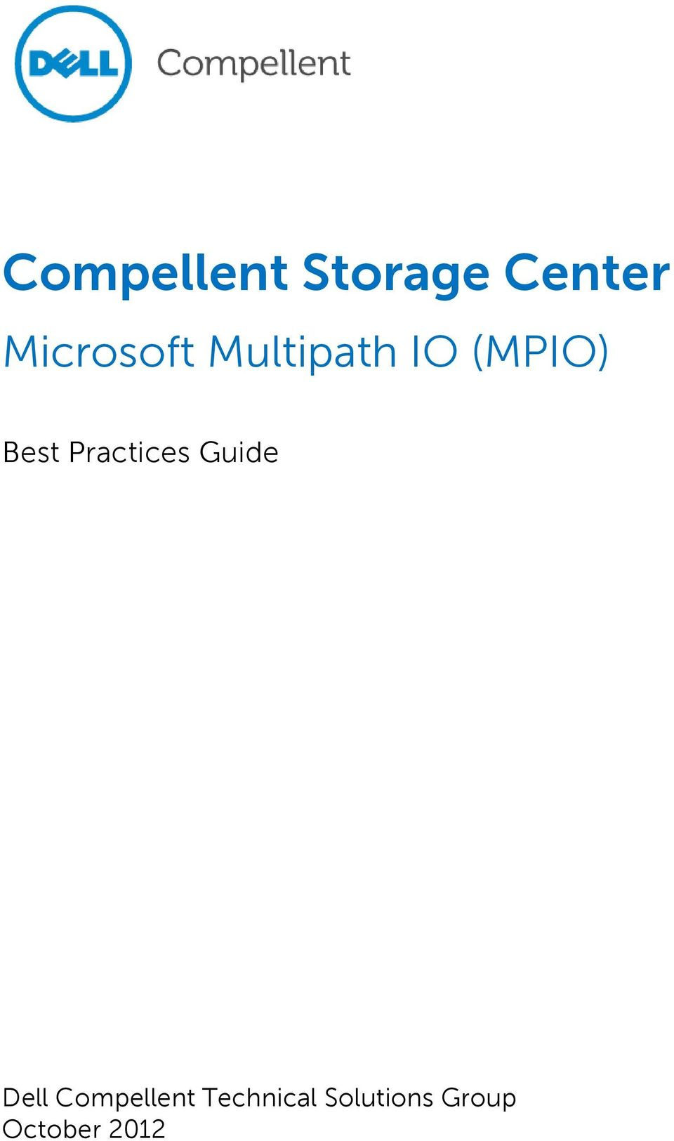 Best Practices Guide Dell