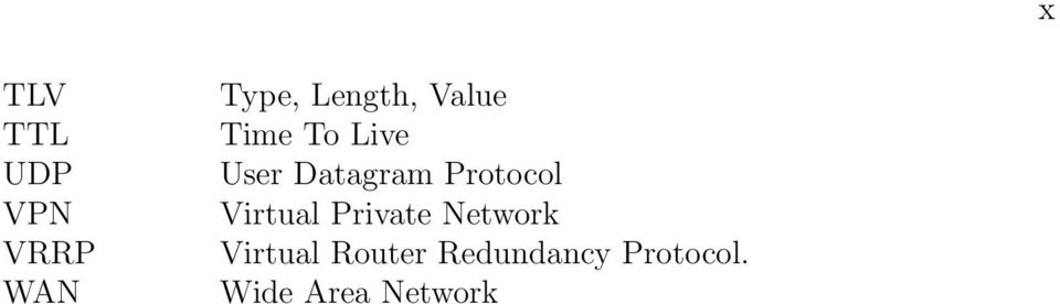 Datagram Protocol Virtual Private