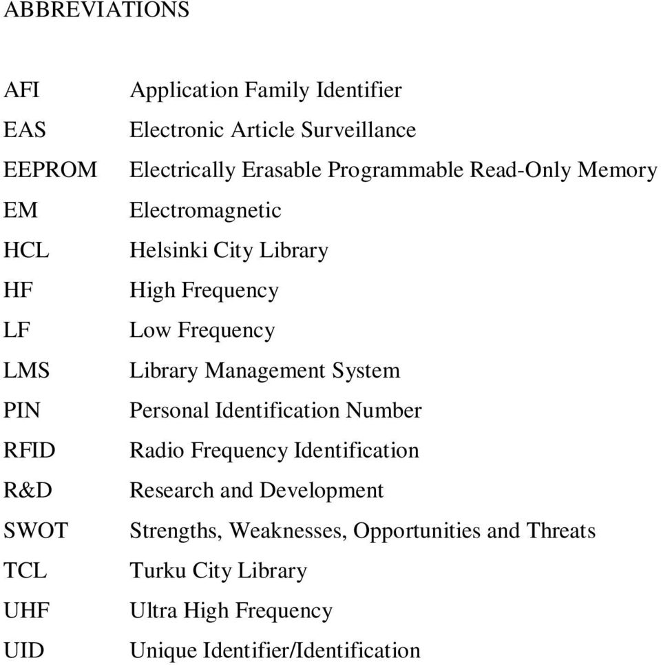 Frequency Low Frequency Library Management System Personal Identification Number Radio Frequency Identification Research
