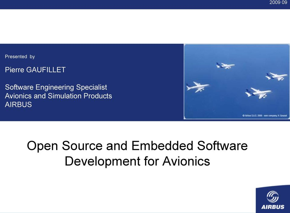 and Simulation Products AIRBUS Open