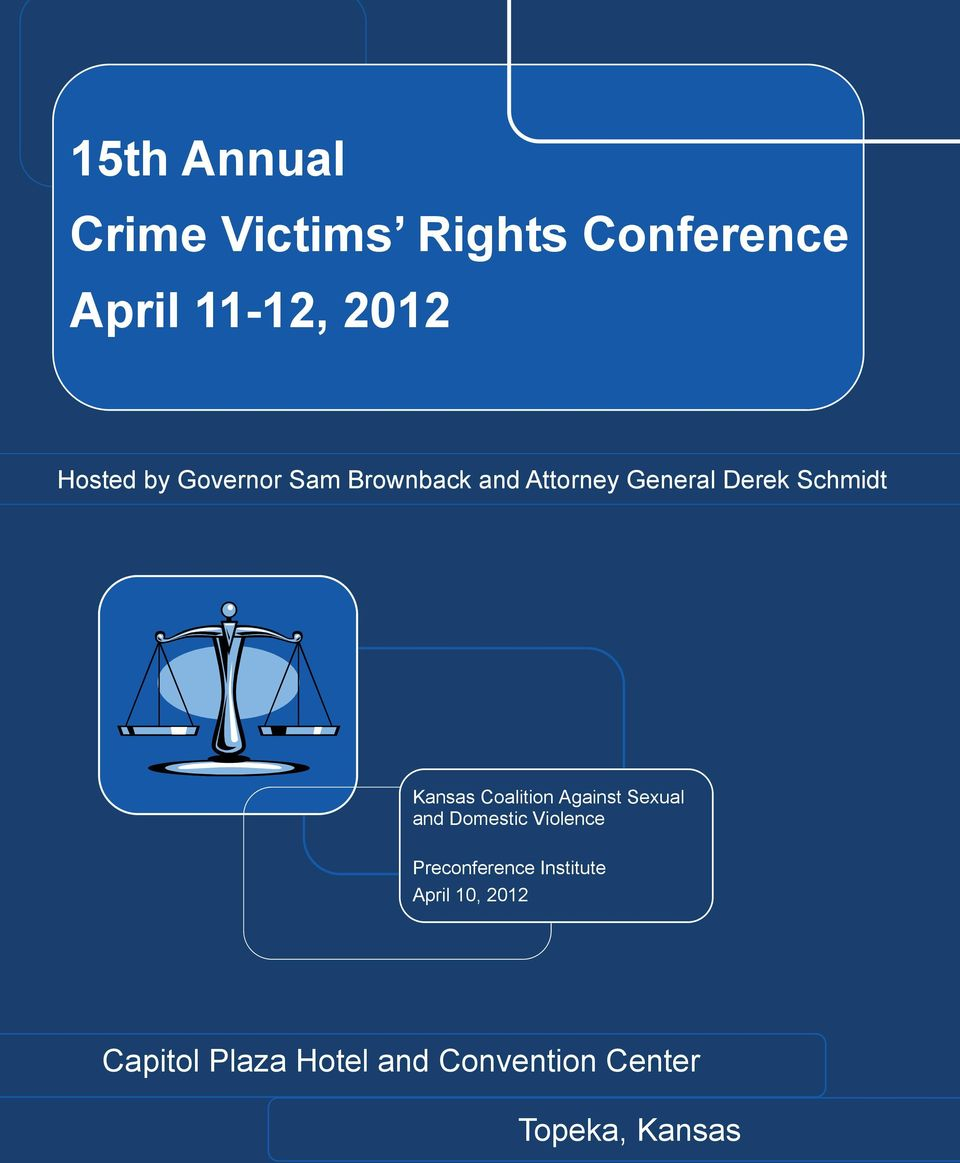 Coalition Against Sexual and Domestic Violence Preconference