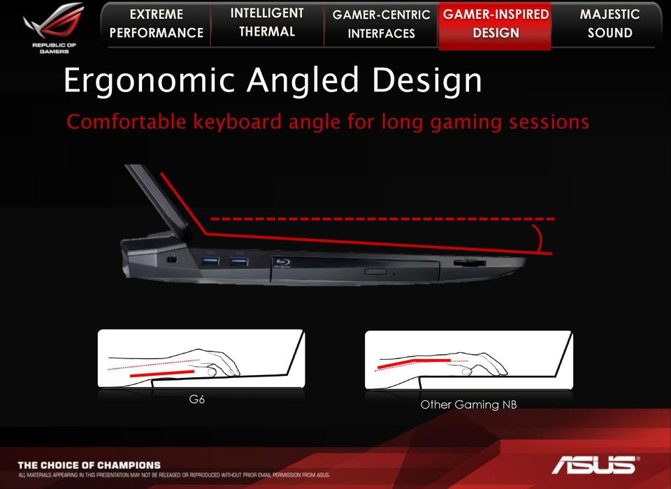 angle for long gaming