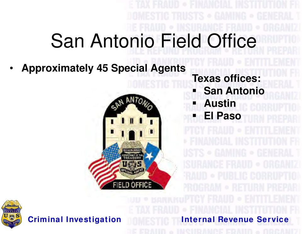 Agents Texas offices: