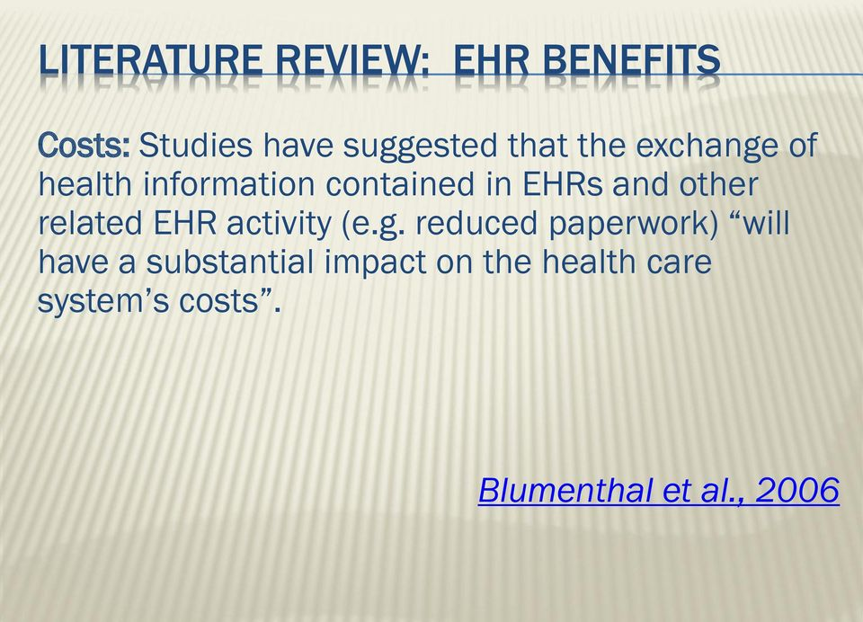 related EHR activity (e.g.