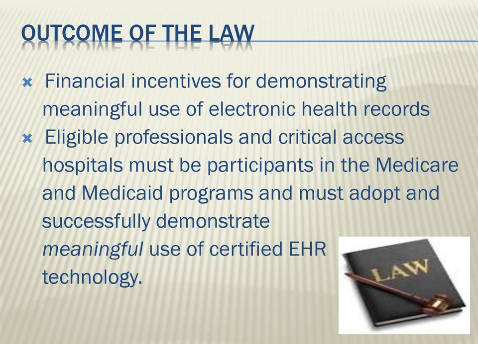 hospitals must be participants in the Medicare and Medicaid programs and