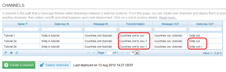 In this example we have two fields (countername and value) And this the uploaded CSV file 1,1001 2,1002 3,1003 4,1004 4.8.