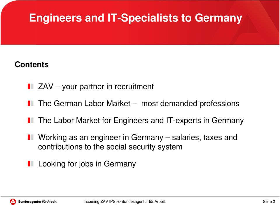 and IT-experts in Germany Working as an engineer in Germany salaries, taxes and