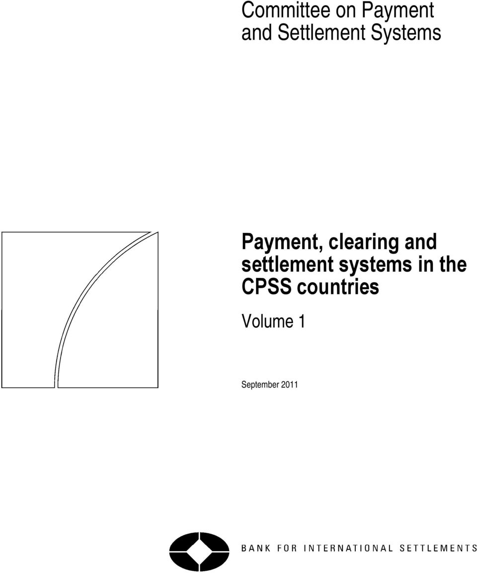 clearing and settlement systems