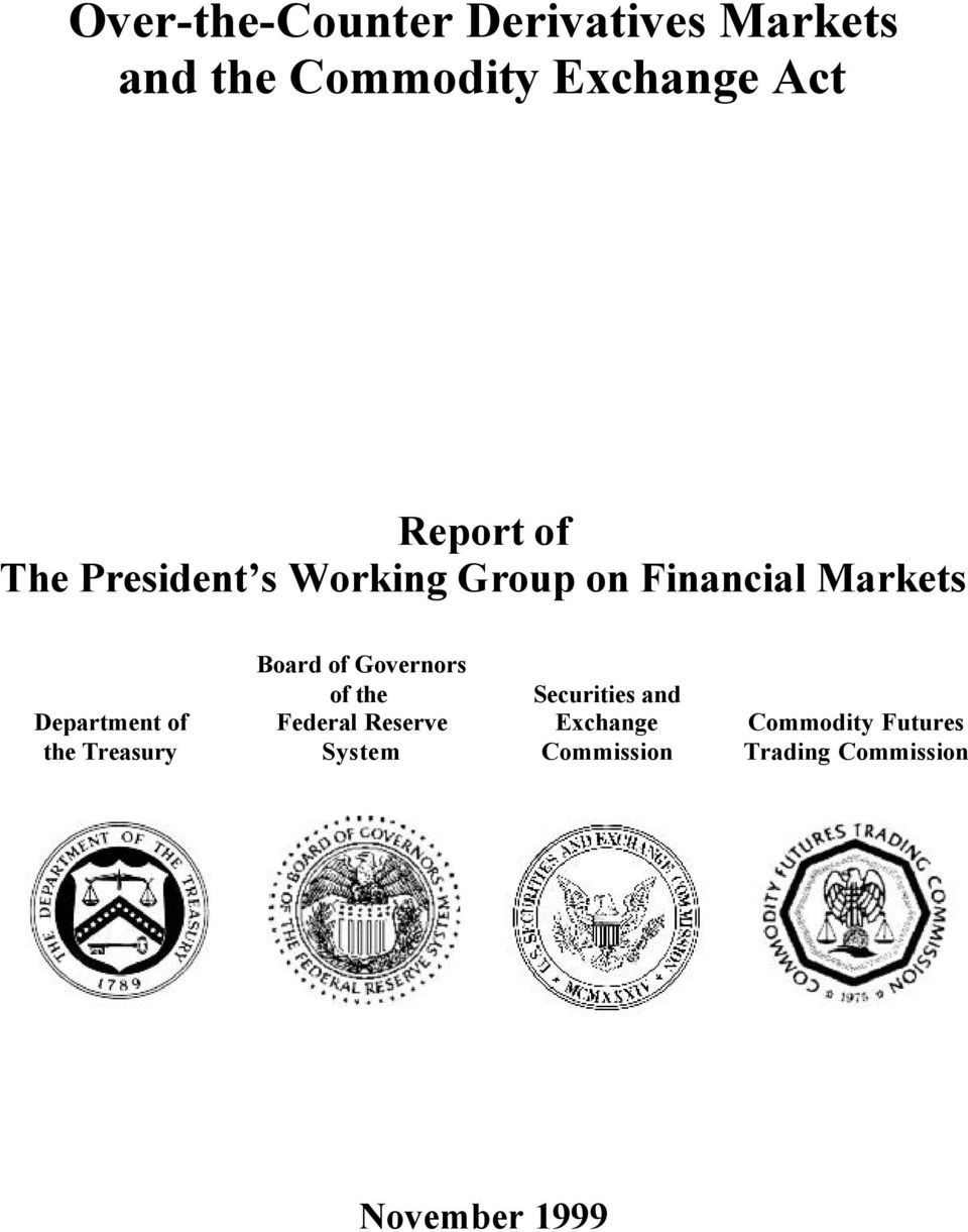 of the Treasury Board of Governors of the Federal Reserve System