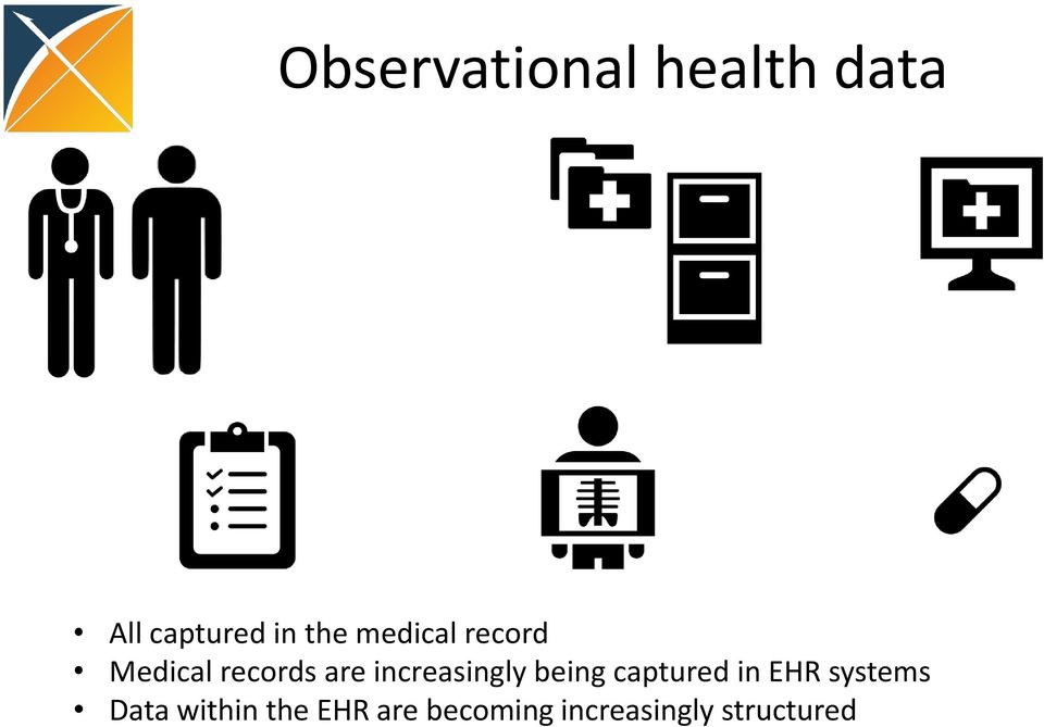 increasingly being captured in EHR systems
