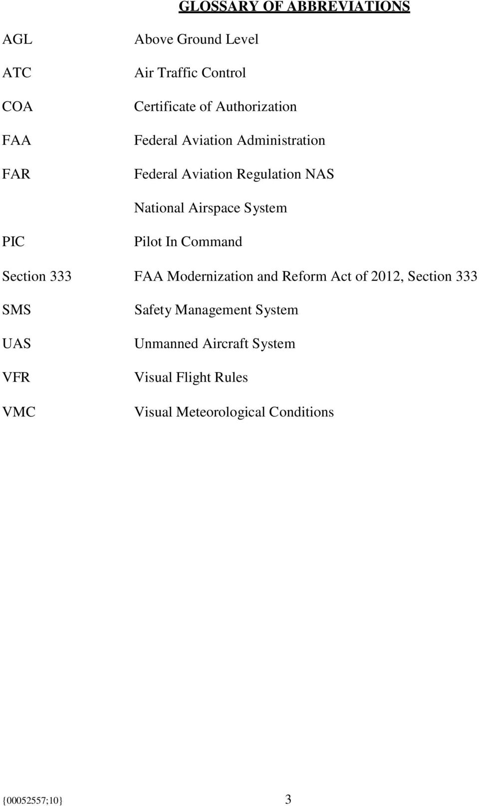 PIC Pilot In Command Section 333 FAA Modernization and Reform Act of 2012, Section 333 SMS UAS VFR VMC