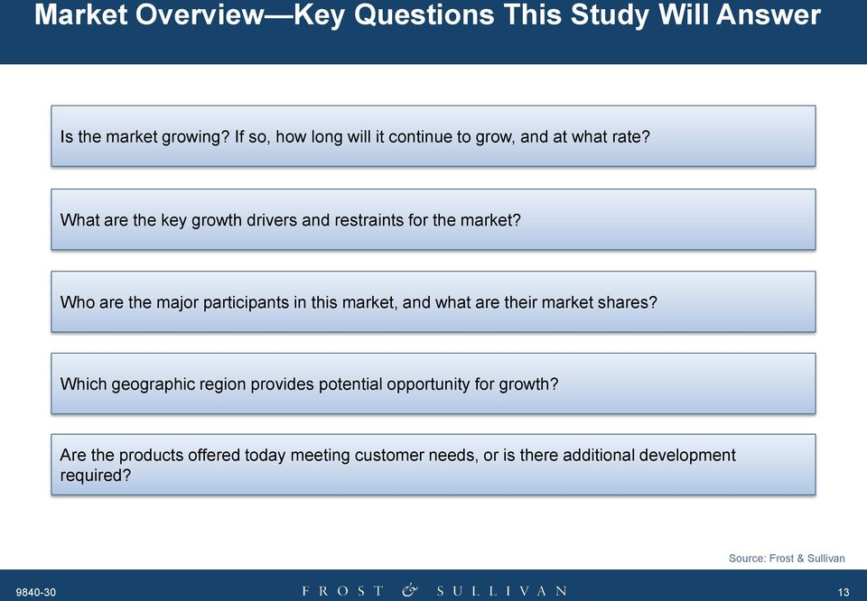 What are the key growth drivers and restraints for the market?