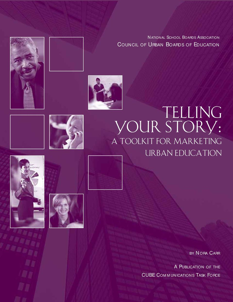 TOOLKIT FOR MARKETING URBAN EDUCATION BY NORA