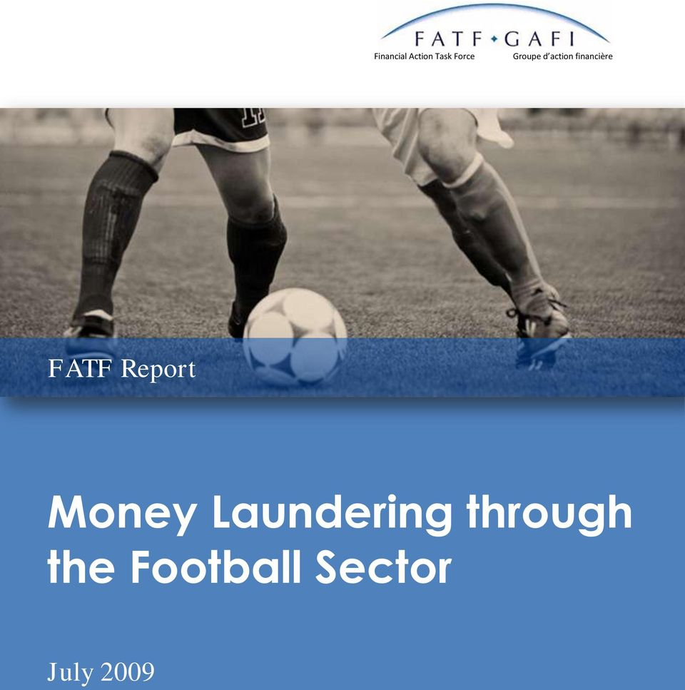 FATF Report Money Laundering