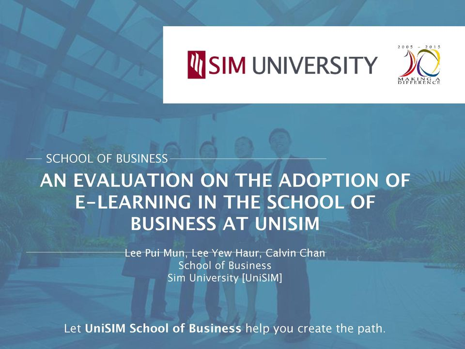 of Business Sim University