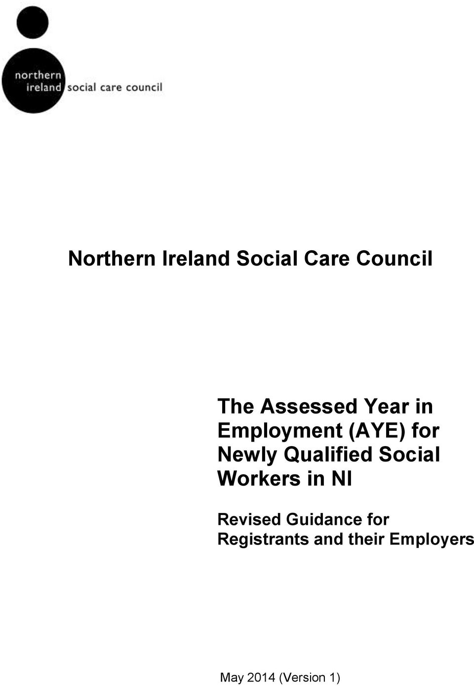 Qualified Social Workers in NI Revised Guidance