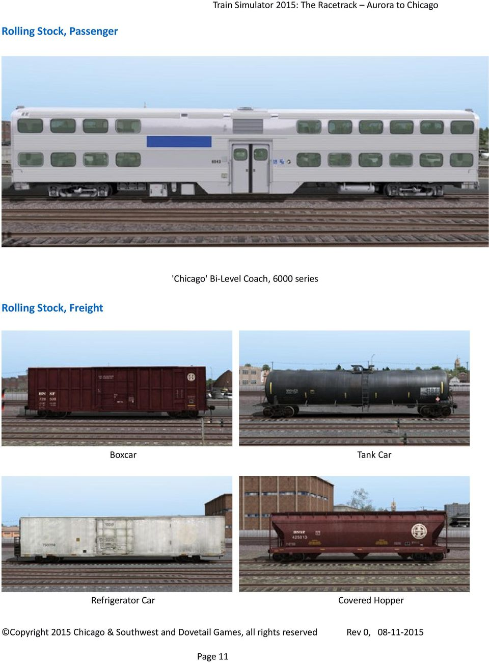Stock, Freight Boxcar Tank Car