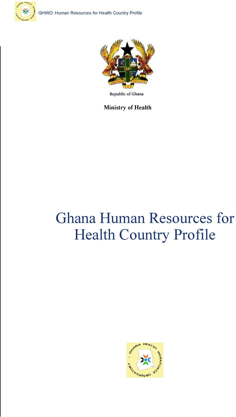 Ministry of Health Ghana