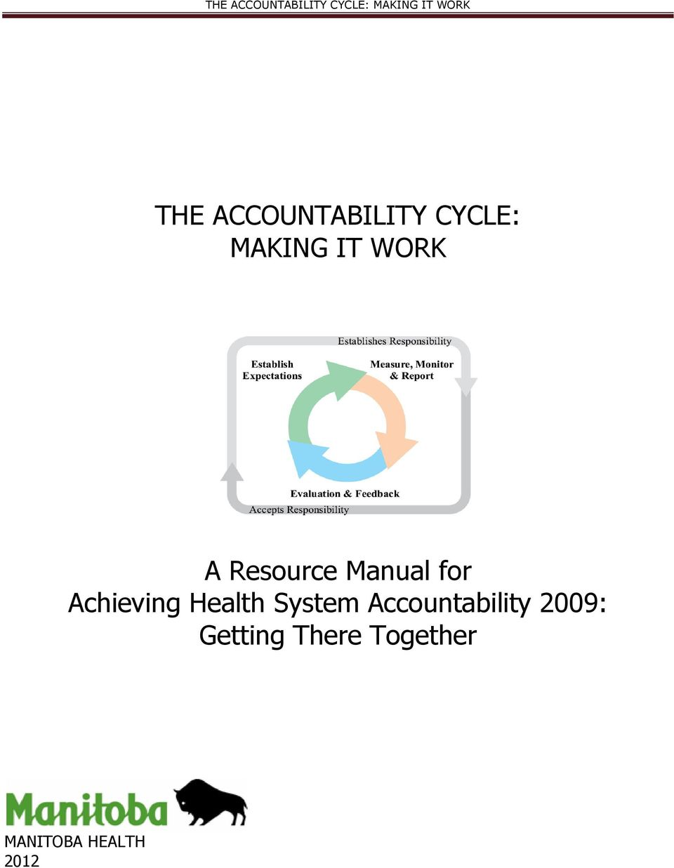 Health System Accountability 2009: